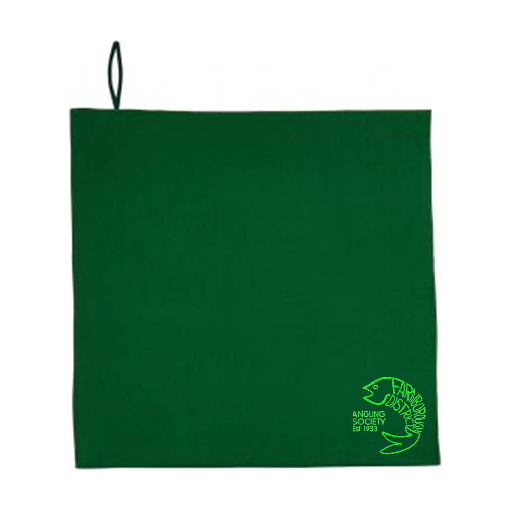 Farnborough And District Angling Society Hand Towel