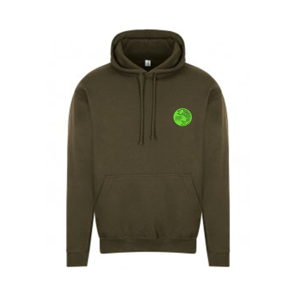 Farnborough And District Angling Society Olive Green Hoddie