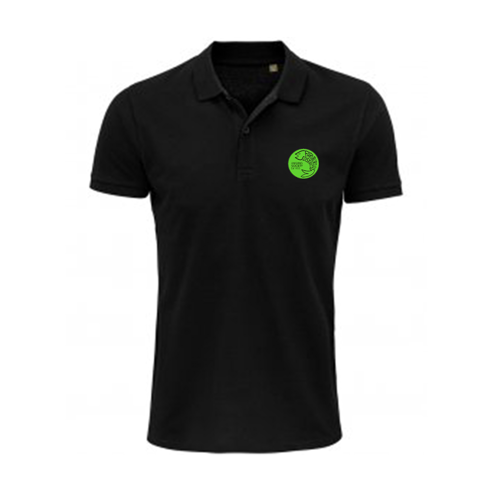Farnborough And District Angling Society Black Polo