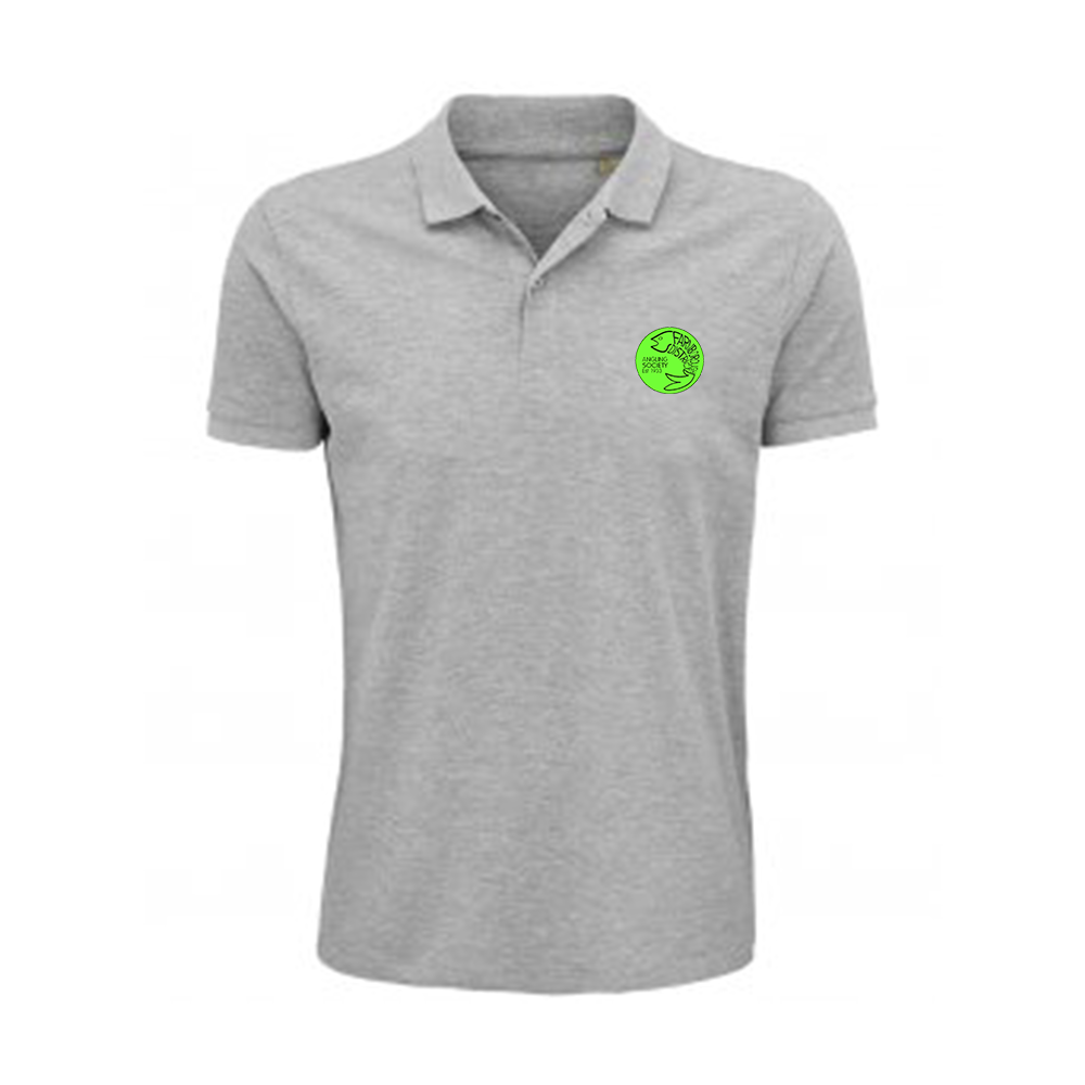 Farnborough And District Angling Society Light Grey Polo