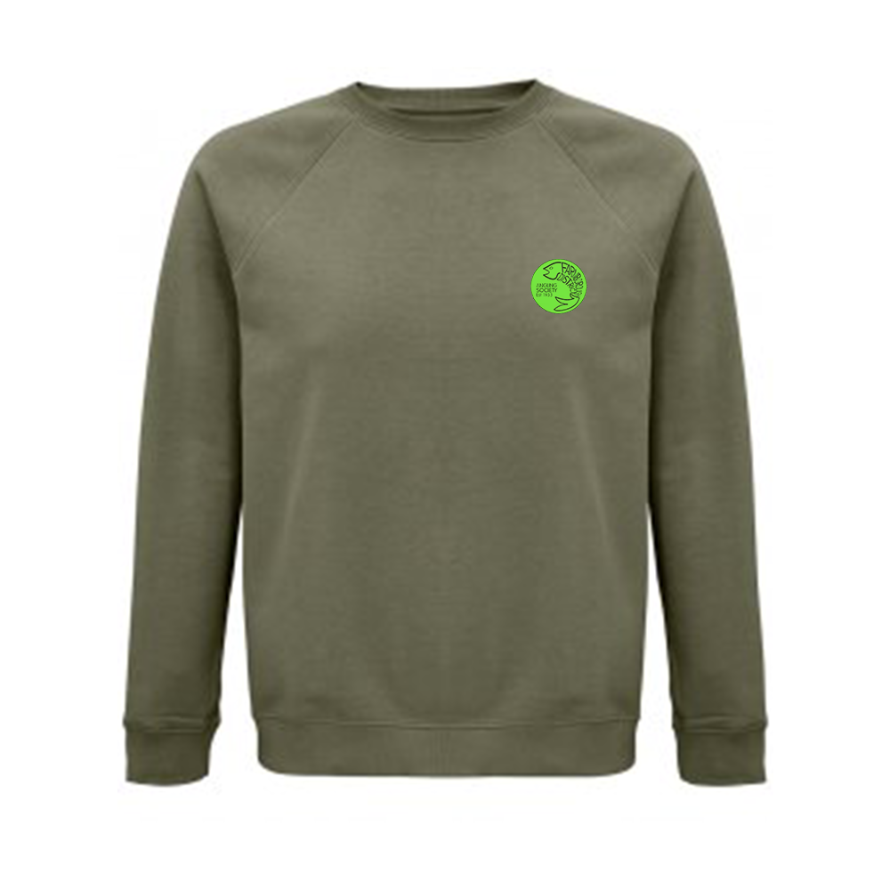 Farnborough And District Angling Society Olive Green Sweatshirt