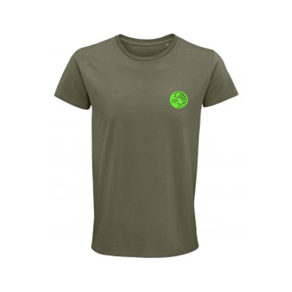 Farnborough And District Angling Society Olive Green T-Shirt